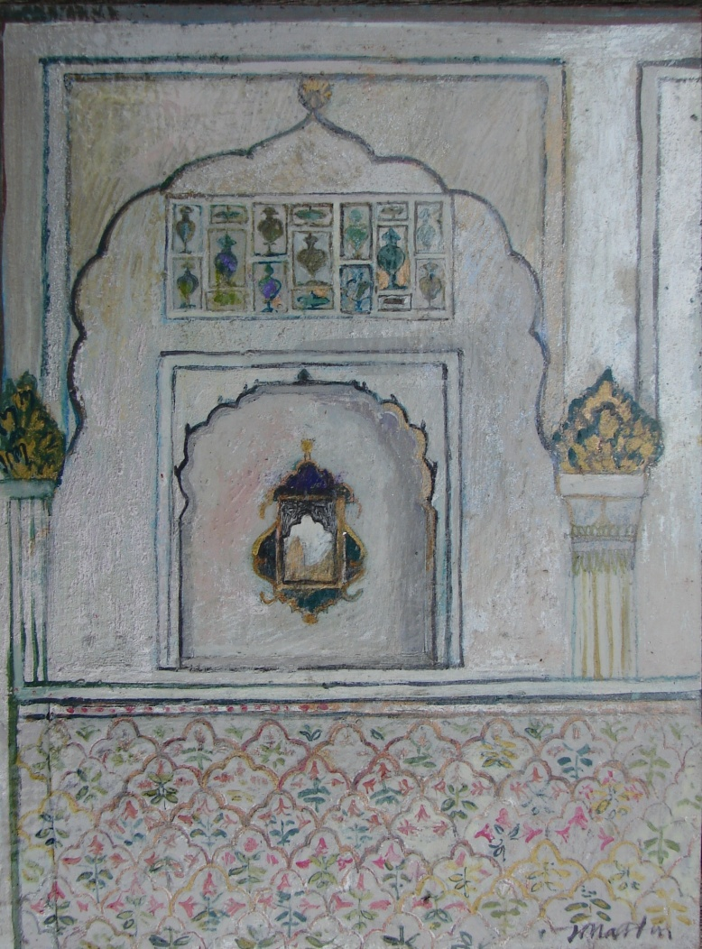 In the Palace of Mirrors, Bikaner - Copy