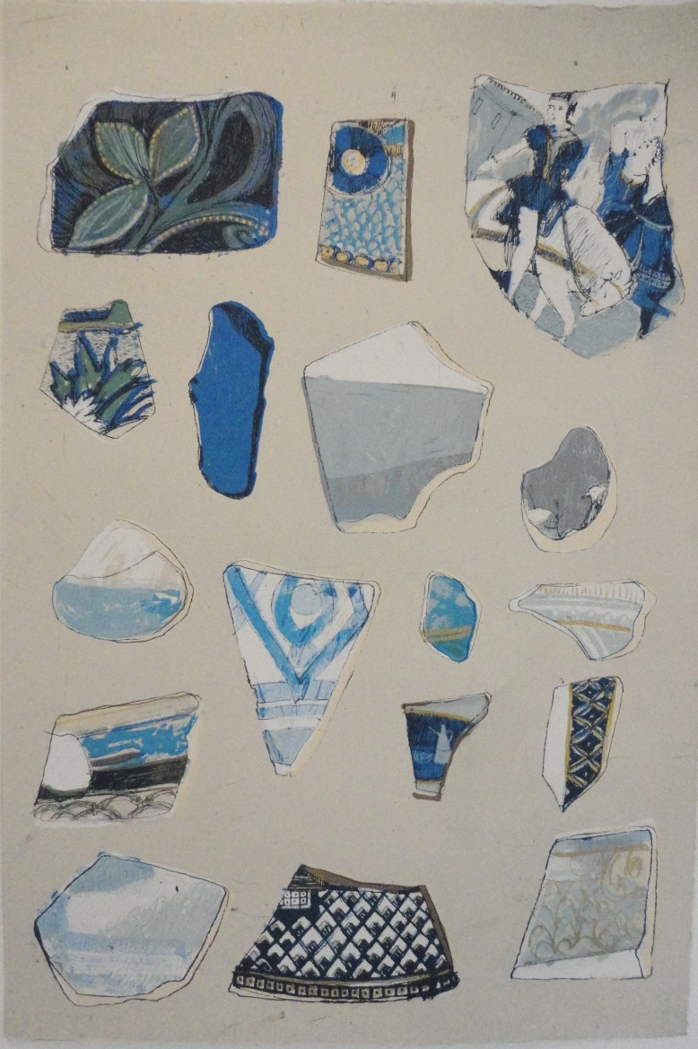 Sea Fragments Delft Blue