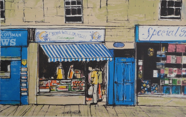 The Fish Shop 29cmx45cm
